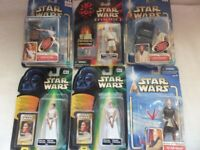 Star Wars figures - 5 different types - Price is per figure