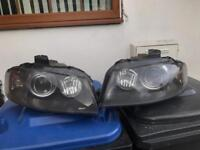 Audi a3 s3 rs3 8p xenon headlights genuine complete with bulb and ballast