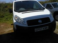 FIAT Scudo Panel Van, 2 Ltr Diesel, 1 former Keeper, Service History, 121,000 miles