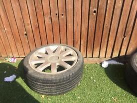 Audi alloy wheels 225-40-18