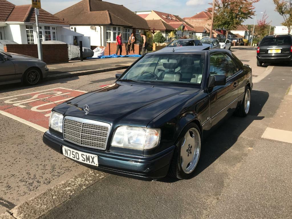 Mercedes e220 ce w124 AMG coupe auto sunroof FSH | in Ilford, London |  Gumtree