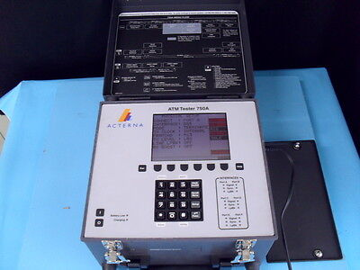Used Acterna Tpi 750a - Atm Physical Layer Test Set