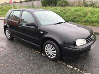 VOLKSWAGON GOLF 1.6 SE. 5 DOOR. 11 MONTHS MOT. FULL SERVICE HISTORY. EXCELLENT CONDITION THROUGHOUT