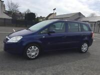 08 VAUXHALL ZAFIRA 1.6 MPV*7 SEATS*GOOD COND*FULL YEARS MOT!BEST VALUE ONLINE!picasso,ford,sharan