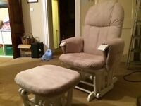 Tutti Bambini Nursing chair with footstool