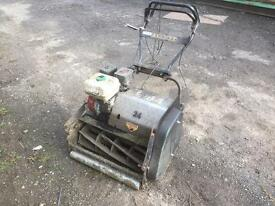 Allet buffalo rotary petrol lawn mower in good cond