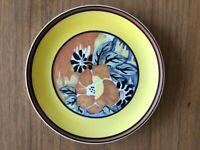 "CLARICE CLIFF Wedgwood Plate "" Eden"""