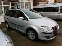 Volkswagen Touran 1.6 2008 low mileage New mot until april 2019...