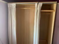 Ikea pine wardrobe