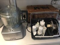 Magimix Compact 3200 food processor + accessories for sale