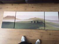 John Lewis Landscape Painting on canvas