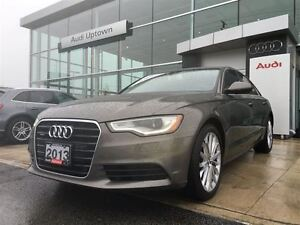 2013 Audi A6 3.0T Premium w/HEADS UP DISPLAY