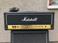 Marshall DSL 100 Valve Guitar Amp Amplifier - Almost new
