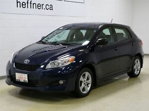 2012 Toyota Matrix With Cruise Control