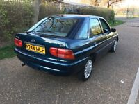 1996 FORD ESCORT 1.6 LX AUTOMATIC(RARE CLASSIC) 20 000 MILES(FULLY WARRANTED)