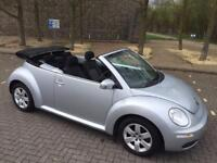 VW BEETLE 1.6 CONVERTIBLE 2006 EXCELLENT CONDITION DRIVES SUPERB ONLY DONE 80K WITH FULL HISTORY
