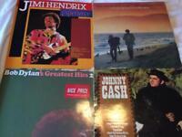 4 vinyl albums - classic artists