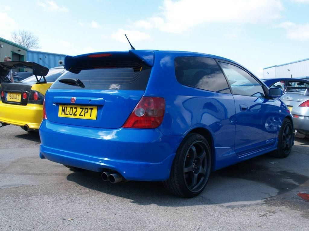 honda civic type r ep3 one off blue 200bhp atech. Black Bedroom Furniture Sets. Home Design Ideas