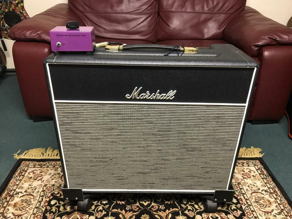 Marshall 1974x with Custom cover - Youtube video | in Penzance, Cornwall |  Gumtree