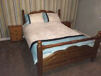 Double bed frame in good condition