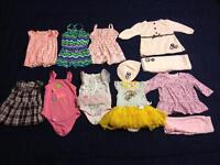 Baby girl clothes 80 items...
