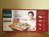James Martin Denby 5 Piece White Serving Kit