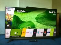 LG 58 INCH 4K ULTRA HD SMART LED INTERNET TV WITH FREEVIEW HD BUILT IN.