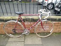 Raleight vintage men's road bike