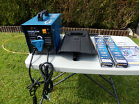 40-80amp Arc Welder Kit brand new used one complete all accesories and aprox 120 welding rods inc
