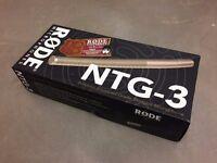 New Røde NTG-3 Shotgun Microphone