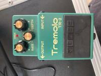Boss tremolo 2 guitar pedal