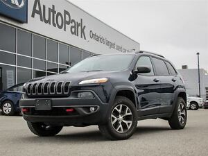 2016 Jeep Cherokee Trailhawk| 4WD| Rear View Cam|
