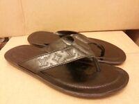 designer louis vuittonmens sandles,genuineLV design strap,exc barg,cost 270. swop/px