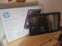 "HP Touchscreen Monitor 23"" Boxed"