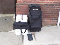 TFH GAZEBO POP UP very heavy duty lights, leg weights,mallet and heavy duty pegs in bags