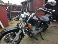 125cc Yamaha Dragstar XVS125 - great bike for learners!