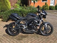 Triumph Street Triple R 675 2011 in Matt Grey - Superb Condition - New Tyres / MOT / FSH