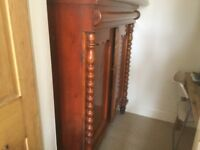 Victorian bed cupboard/wardrobe