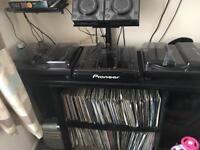 Complete dj setup for sale L@@k 1210 CDJ DJM OLD VINYL