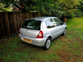 Renault Clio Campus 1.2 Manual 2008 Petrol 3 Door Silver