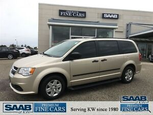 2012 Dodge Grand Caravan SE 25000 KM'S ACCIDENT FREE ONE OWNER!