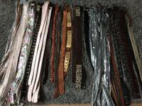 Bargain bundle of new belts