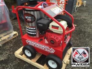 Hot Water Commercial Pressure Washers, $16/Week, Gas and Electric Units Available