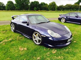 My lovely Porsche 911 (996) Carrera 4, complete with factory-fitted Aero kit