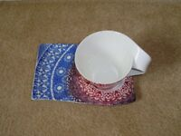 Villeroy and Boch mug and plate set used for sale