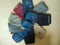 10 Women Chinos+Jeans, Size 10 (Joules, White Stuff, Fat Face)