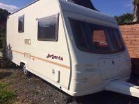 Avondale Advent 480/2 2004 2 berth caravan in Saltash