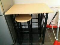 High table & stools