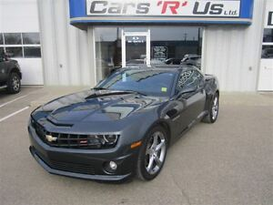 2013 Chevrolet Camaro 1-SS RALLY SPORT V8 MANUAL (NO PST) 5K!
