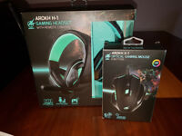 Arokh Mouse and Headset FOR SALE!!